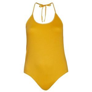 BP. Halter Bodysuit Yellow 1X